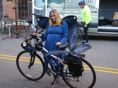 Arienna. Level 1 Fairy Bicyclist.